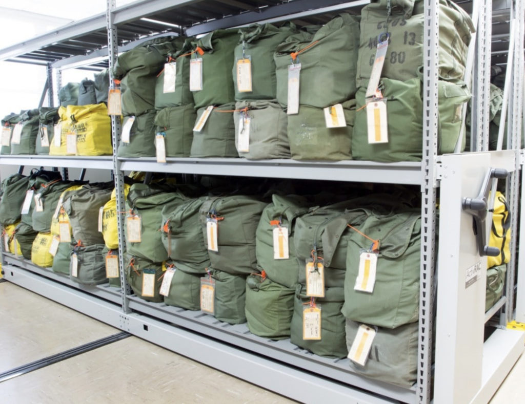 Military Parachute Storage McMurray Stern