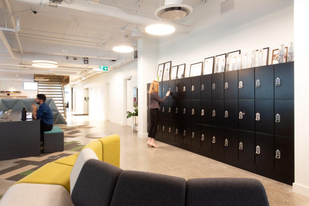 business storage lockers