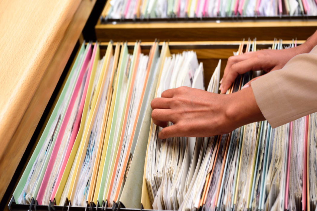 Color-Coded File Labeling in Records Management