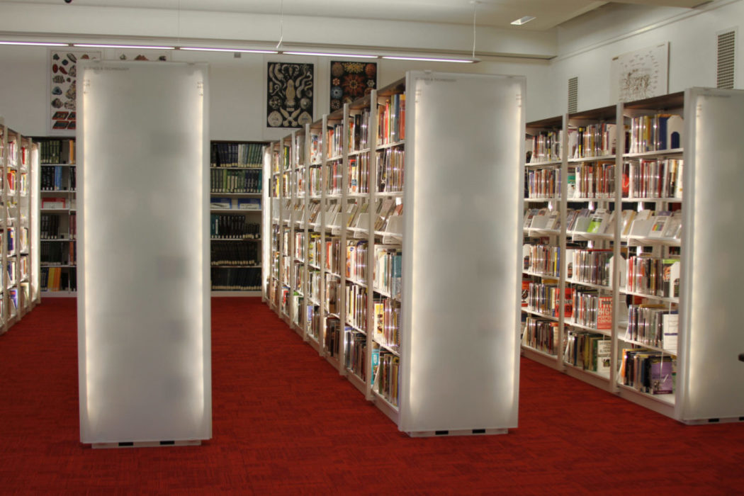 Cantilever Shelving in your library