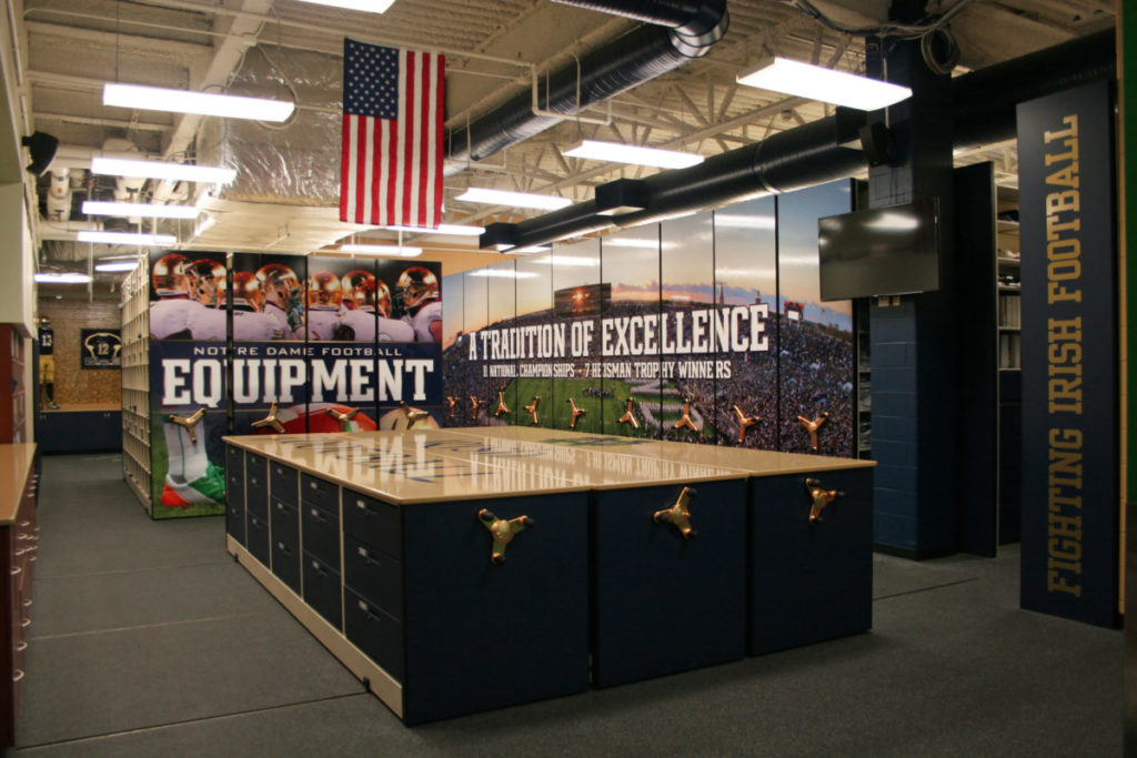 Organized Storage a Recruiting Tool for Top Student-Athletes